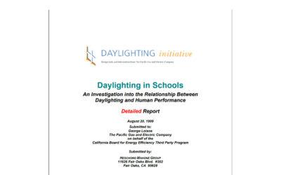 Daylighting in Schools