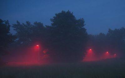 Nizozemské město vyměnilo bílé světlo za červené
